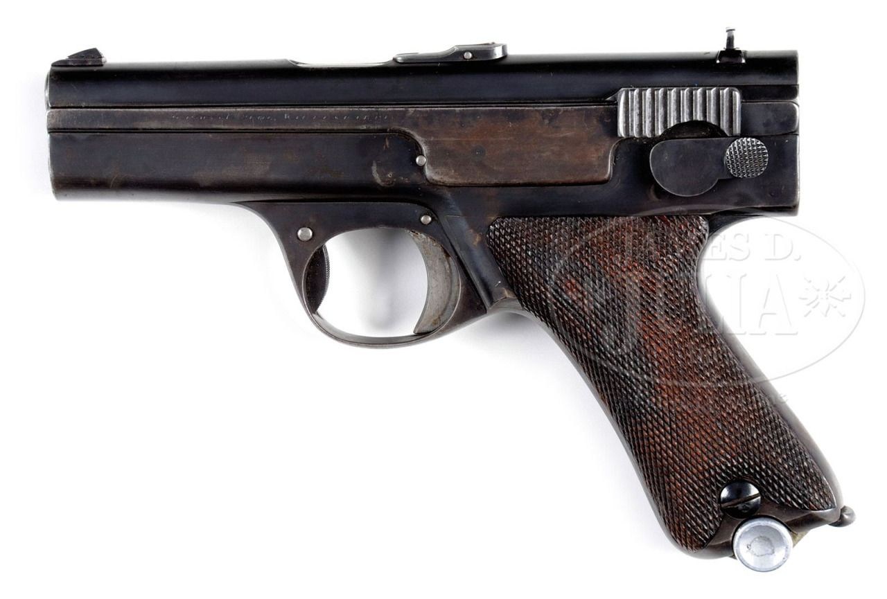 Spp 1 underwater pistol - Simson 1929 Semi Automatic Pistol Prototype Manufactured By Simson Co Waffenfabrik In Suhl