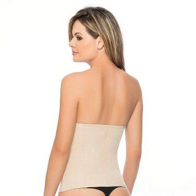 b536d82505 Annette Women s Faja Extra Firm Control Latex Back and Front Waist Cincher  - Beige Xxxl