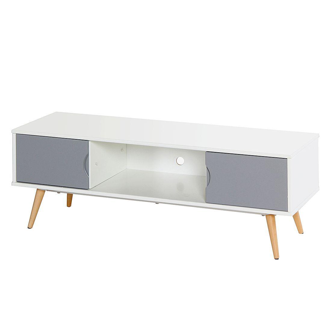 Morteens Möbel tv lowboard stan weiß grau morteens jetzt bestellen unter https