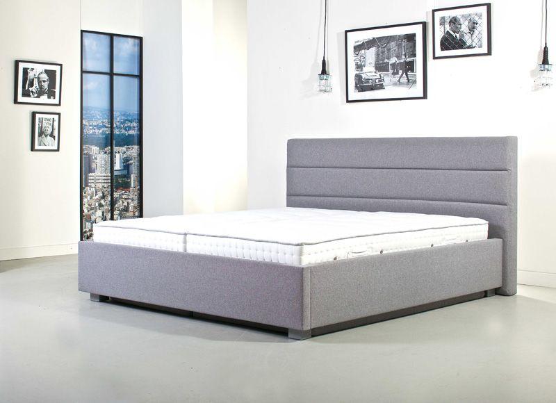 Boxspring Ledikant In 2020 Ledikant Gestoffeerde Bedden Bed