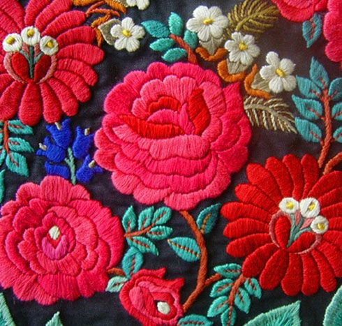 Embroidery Of India- The Symbols Motifs And Colors | Hand Embroidery Designs Embroidery And ...
