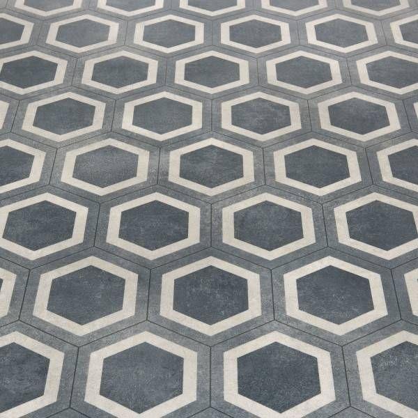 Platinum Honeycombe Tile Blue Vinyl Blue Vinyl Grey Vinyl Flooring Vinyl Sheet Flooring