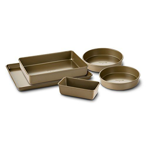 Simply Calphalon Nonstick Bakeware Set 5 Piece Nonstick