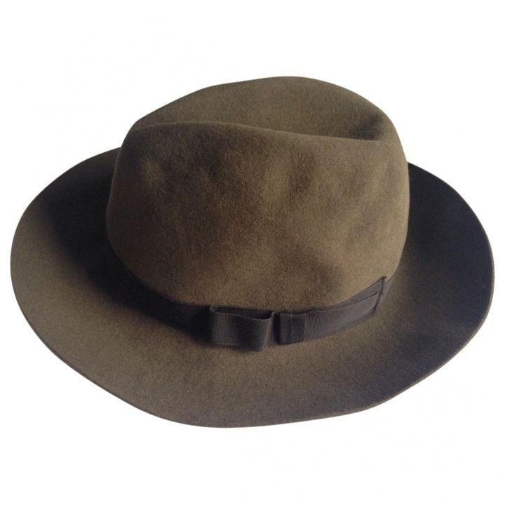 Margaret Howell Khaki Wool Hat.