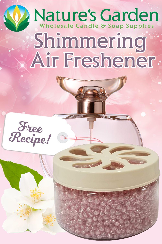Shimmering Air Freshener Recipe in 2020 Air freshener