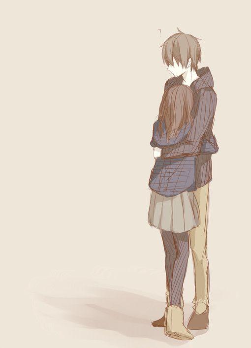 Anime Couple Fanart : anime, couple, fanart, Fanart