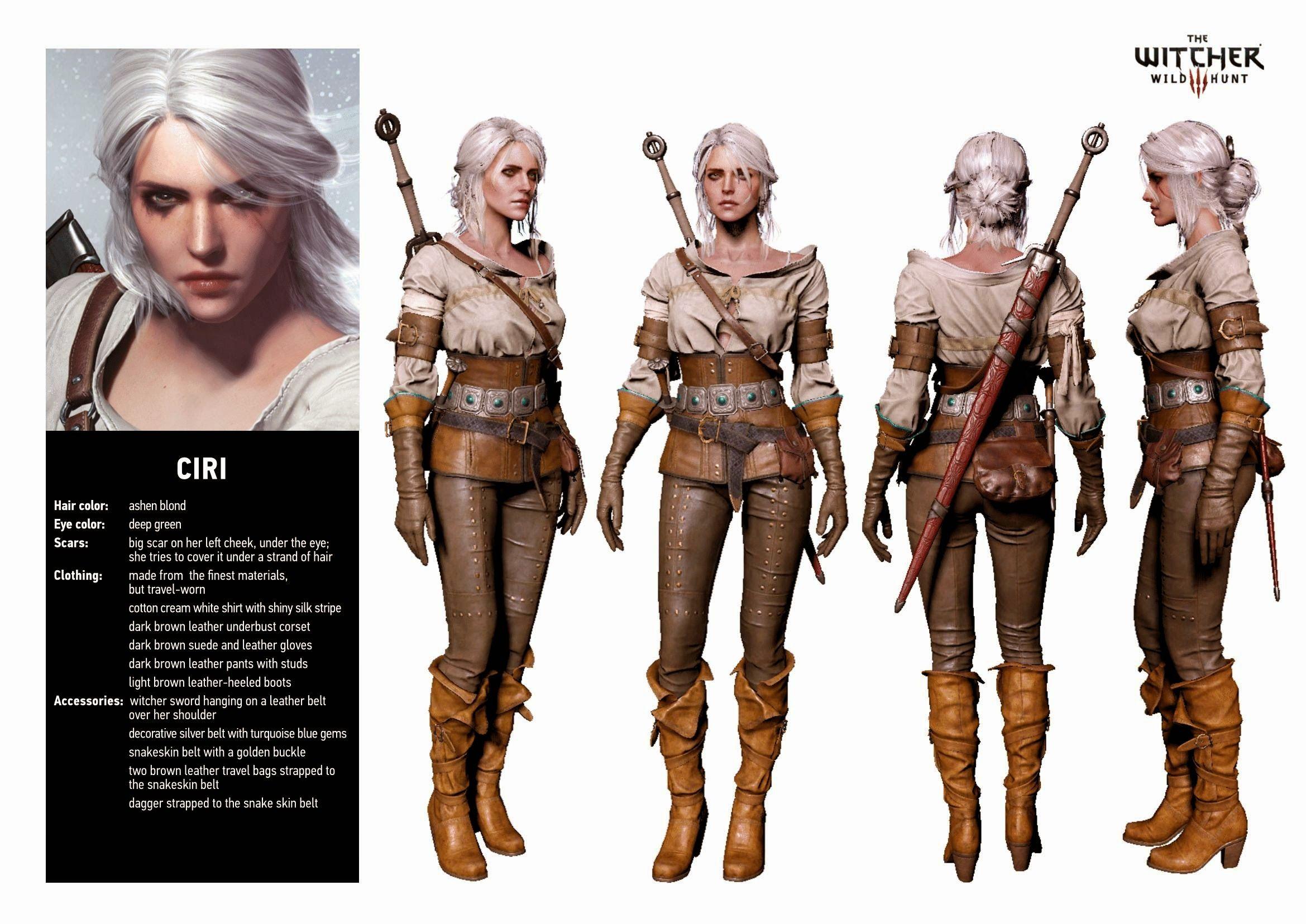 Witcher 3 , Cirilla (Ciri)