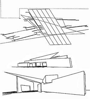 Image result for zaha hadid fire station Arch Drawings