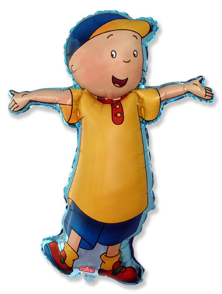 "36"" xxl BALLOON new CAILLOU body SUPER SHAPE birthday PARTY favors DECORATION"
