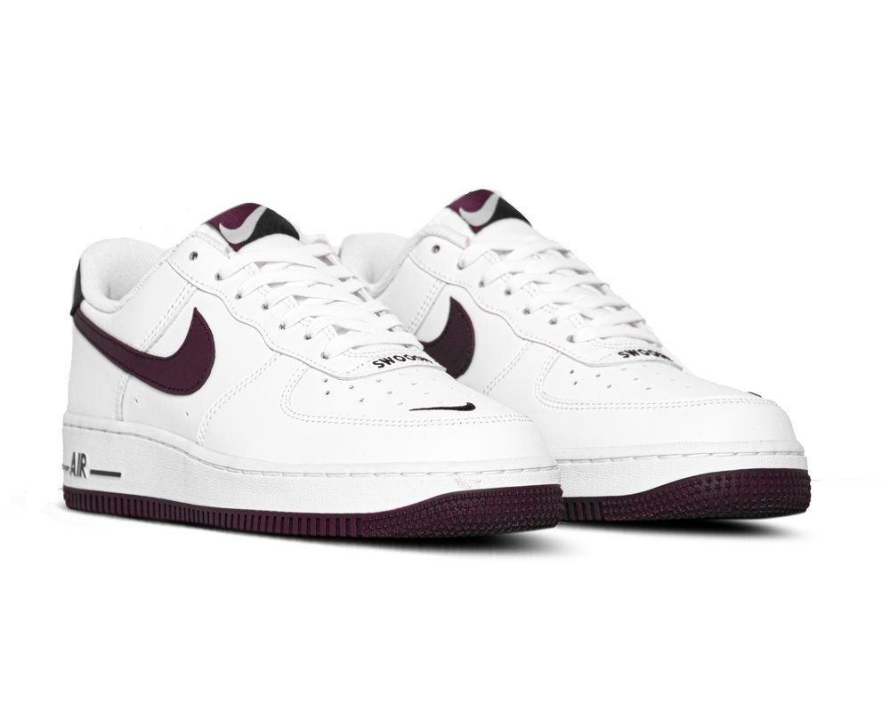 Bruut Nike Air Force 1 07 Lv8 White Night Maroon Obsidian Nike Air Force Nike Air Force Sneaker Air Force