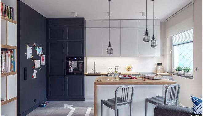 Projekt Kuchni Z Wyspa Studio Potorska Colorful Kitchen Decor Home Decor Kitchen Decor