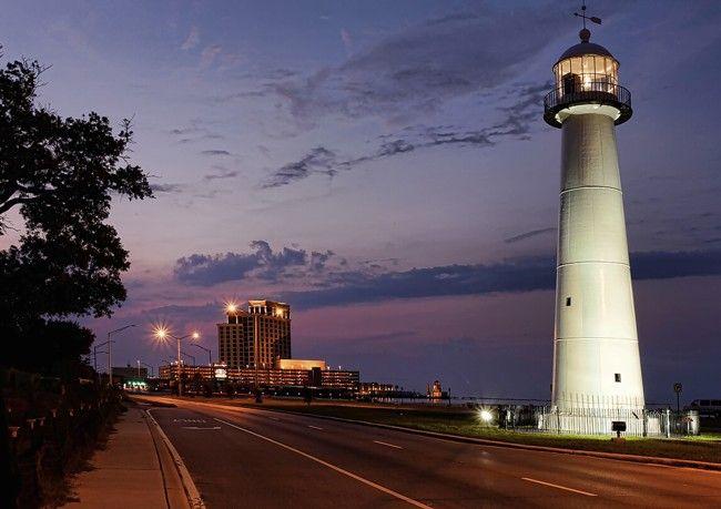 Biloxi Mississippi Biloxi Lighthouse Lighthouse Biloxi