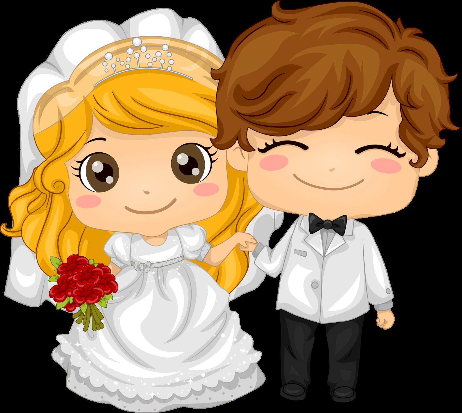 мультяшные картинки про свадьбу использовал