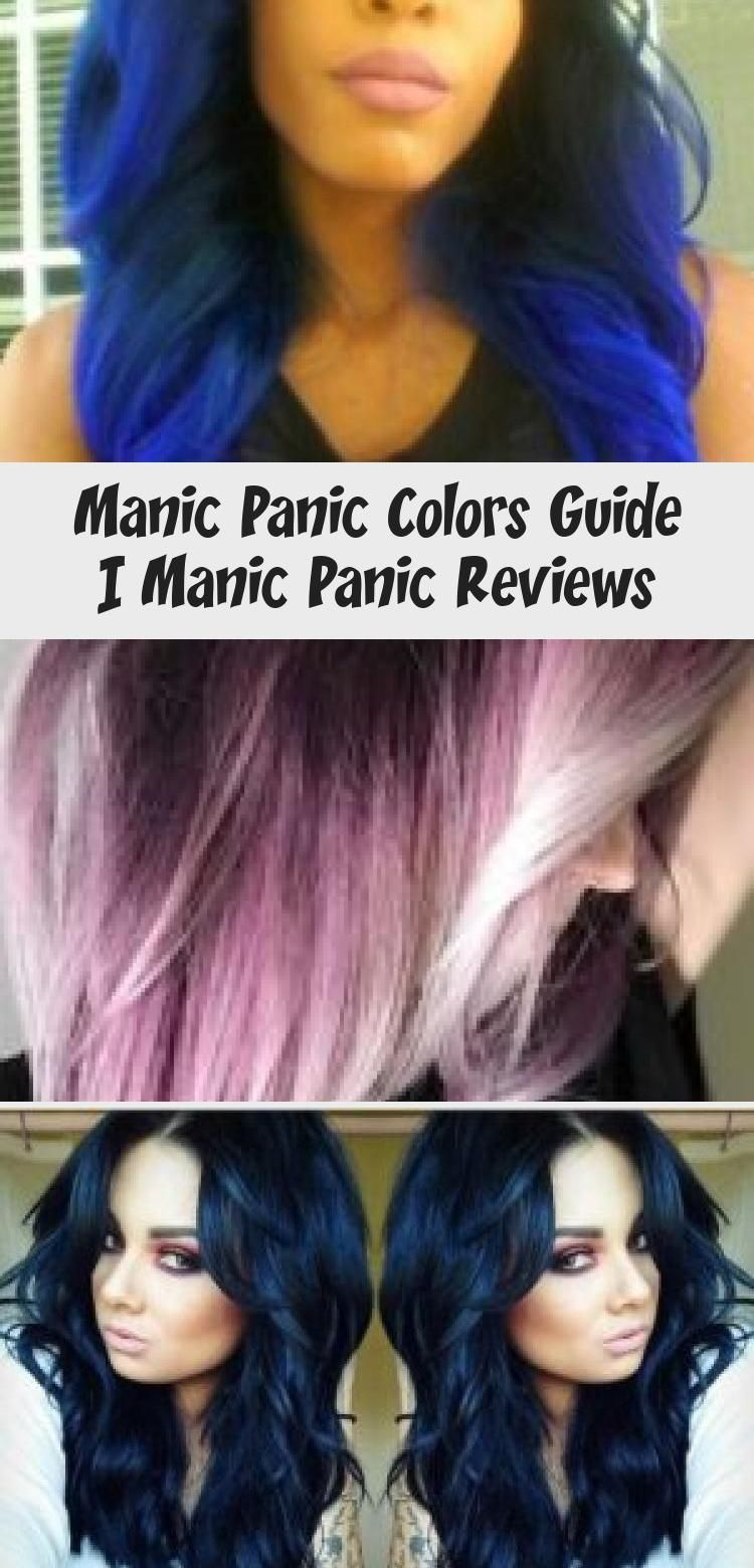 Manic Panic Colors Guide Manicpanic Colors Hairdye Guide Dyedhairstyles Col Colors Dyedhairstylescol In 2020 Manic Panic Colors Manic Panic Manic Panic Hair