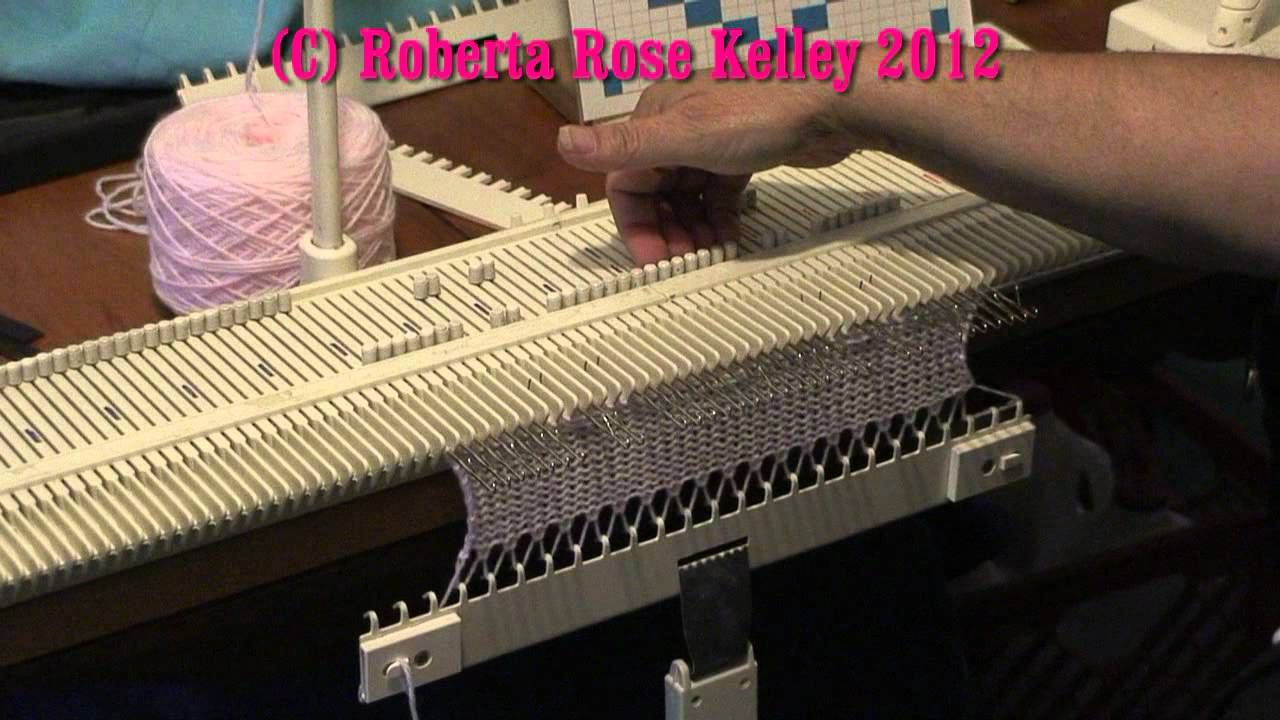 LK150 ~ KX350 Manual Slip/Skip stitch | Brother Knitting Machine ...