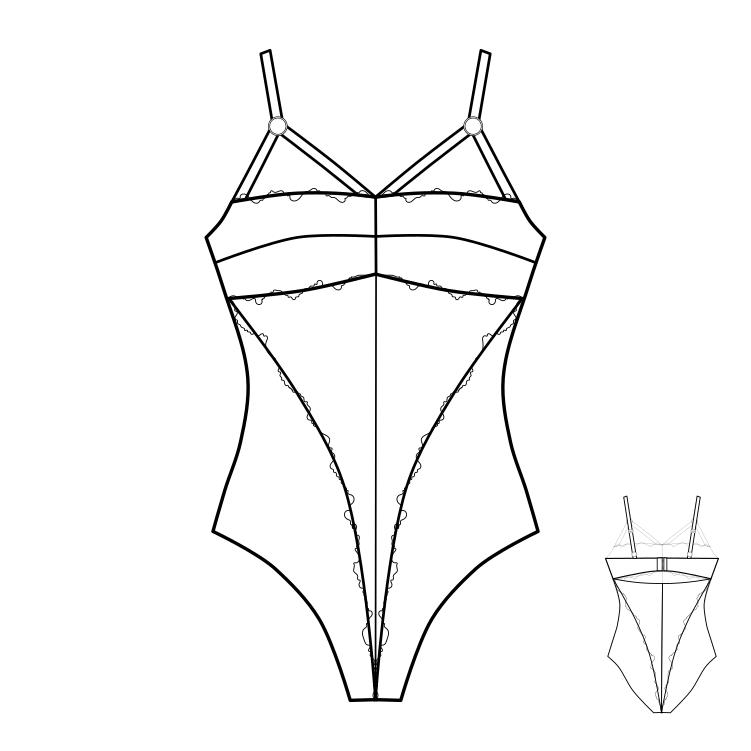 Выкройки кружевного нижнего белья скачать бесплатно на формат а4 женское красивое белье украина
