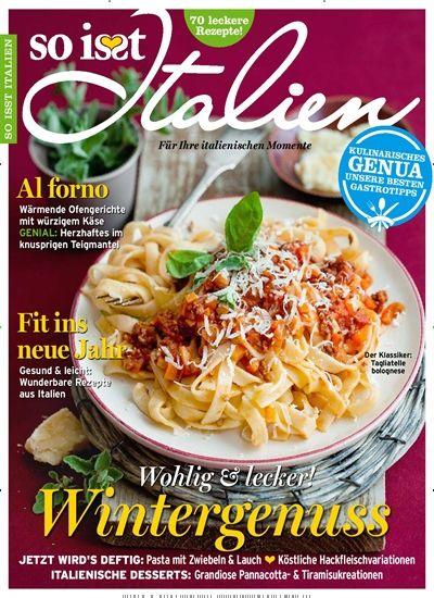 Lecker Zeitschrift Abo so isst italien abo und geschenkabo