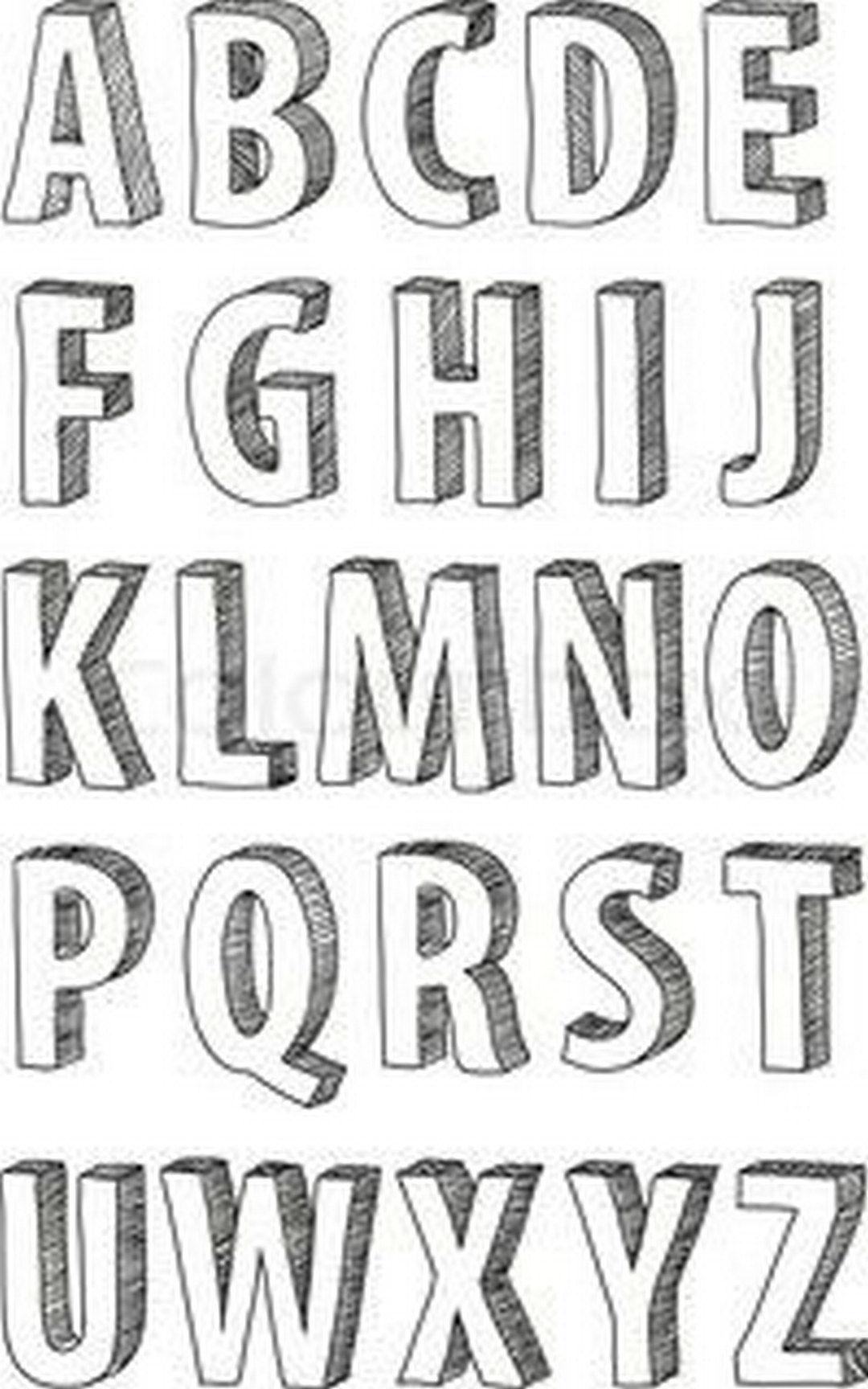 3 Ways To Improve Your Typography Alphabet Design Fonts