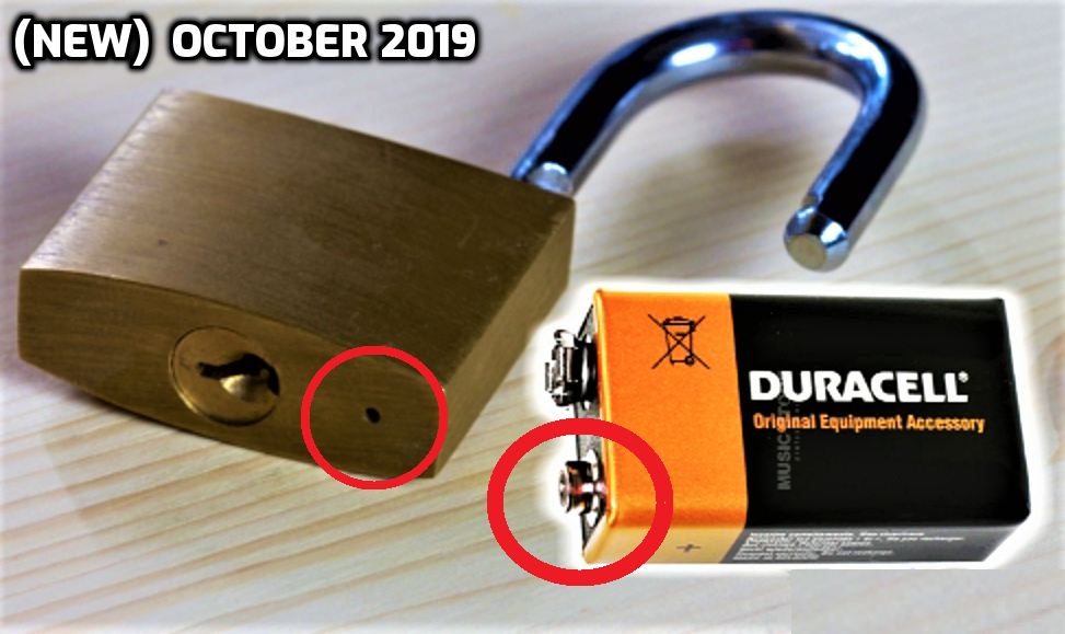 6 Ways To Open A Lock New Diy Lock Diy Gadgets Useful Life Hacks