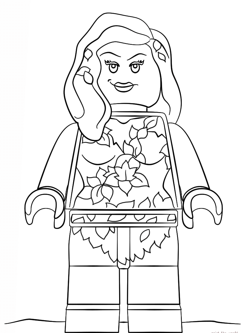 The Lego Batman Movie Coloring Pages Lego coloring pages