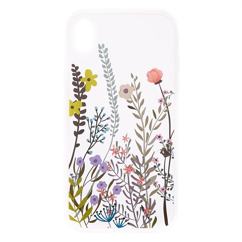 Claire's Wild Flower Phone Case Fits iPhone XR