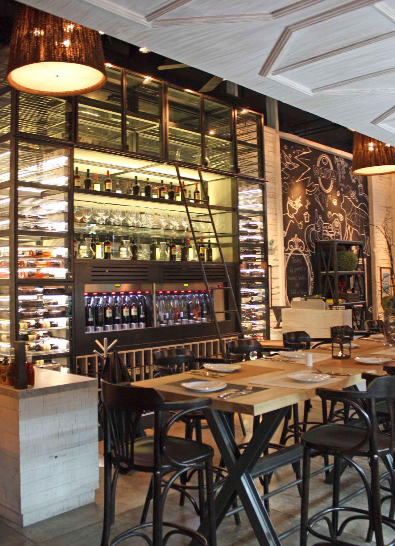 Wine Cellar  Deli Restaurant And Wine Shop Interior Design Project