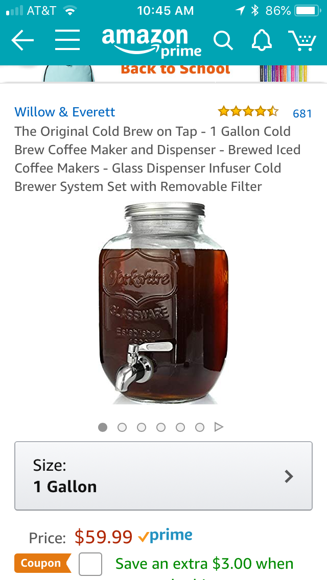 Pin by Carol Williams Anderson on Make these Cold brew
