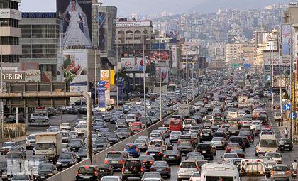 Traffic in Beirut