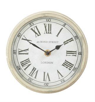Pillow Talk Mini 49 Bond St Wall Clock Grey Wall Clocks Wall Clock Clock