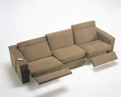 Modern Recliner Sofa Thesofa - Contemporary Recliner Sofa €� TheSofa