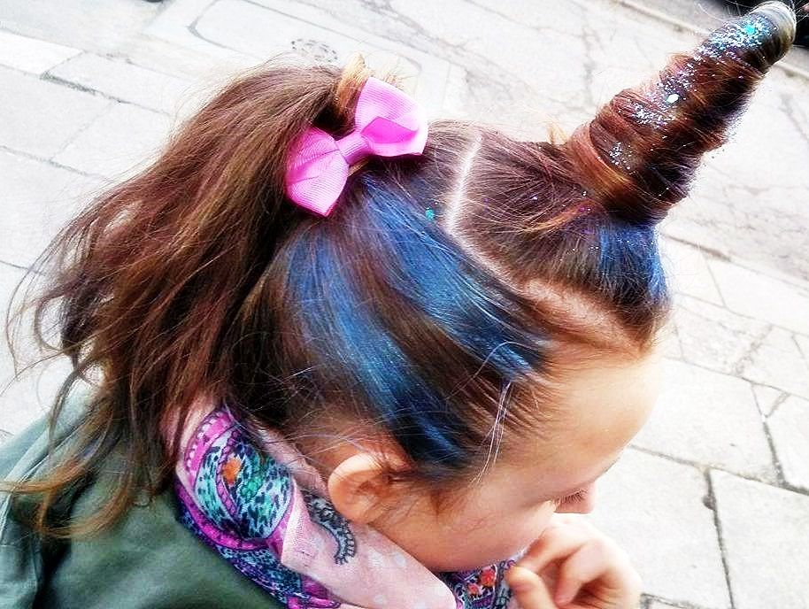 Pin Na Kids Hairstyle Unicorn