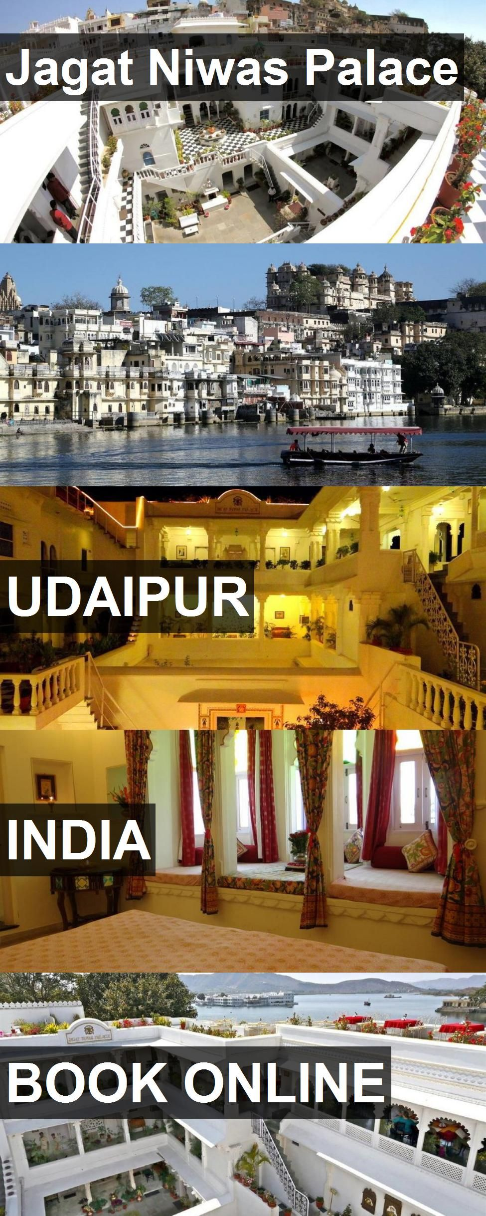 Hotel Jagat Niwas Palace in Udaipur, India. For more