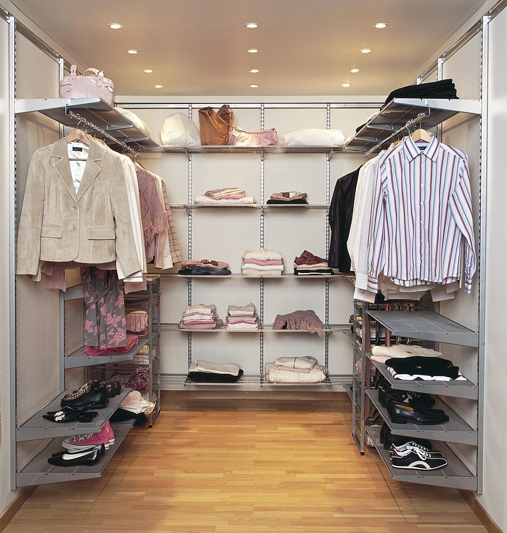 Organise your clothing and shoe storage with