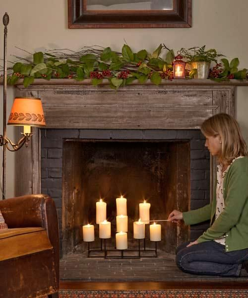 Decorating Fireplaces With Candles: 35 Super-Fast Fixes And Easy Upgrades