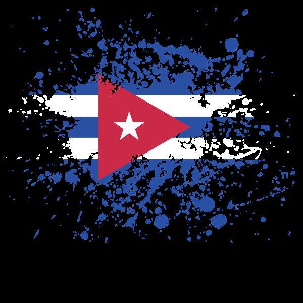 Cuban Flag Flag Art Cuban Flag Cuba Art