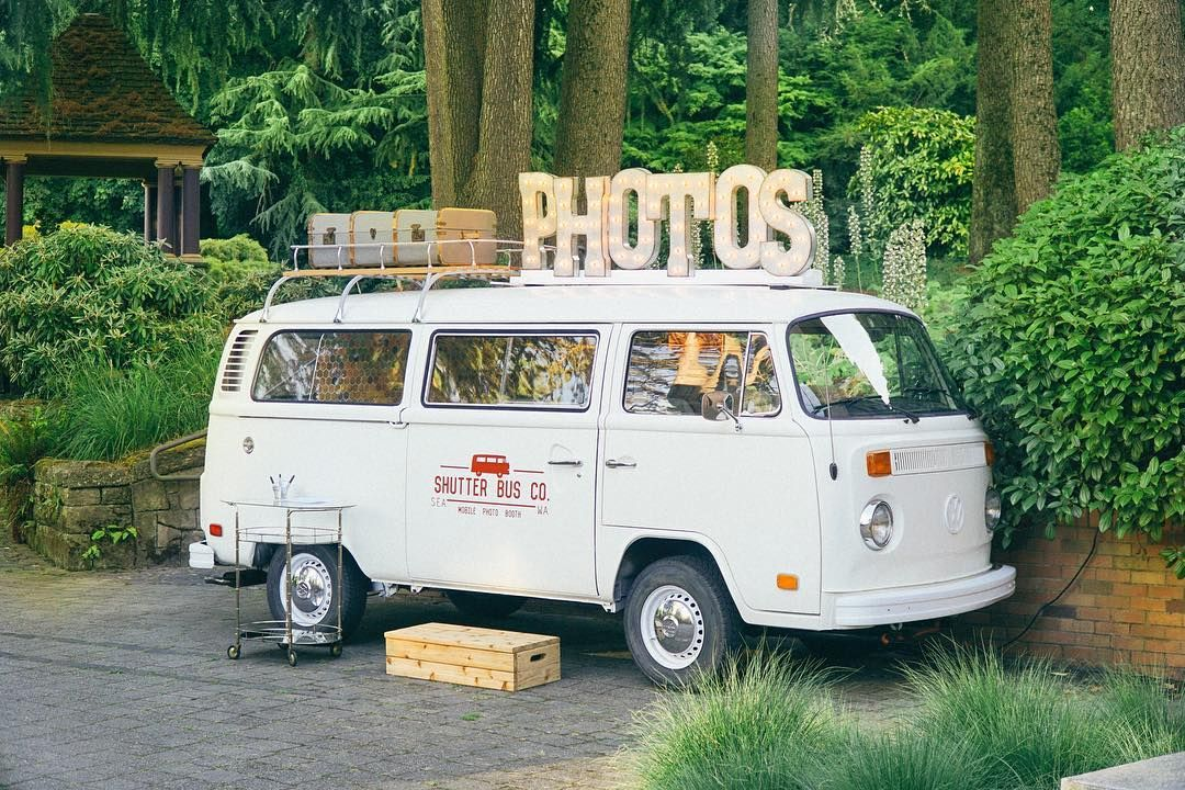 The Shutter Bus Co - photo booth in a VW! | Dream wedding in 2019