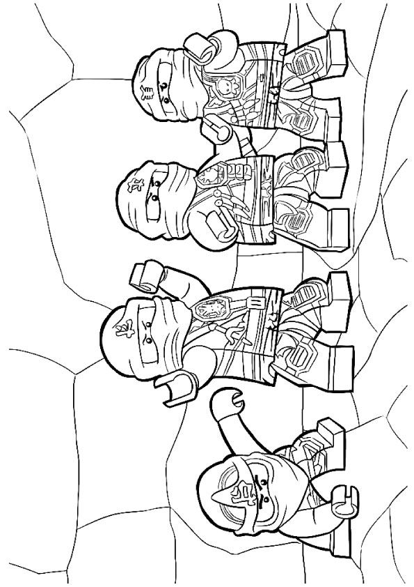 Click SHARE THIS STORY ON FACEBOOK | Ninjago coloring pages