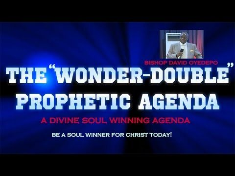 Bishop David Oyedepo- - agenda word