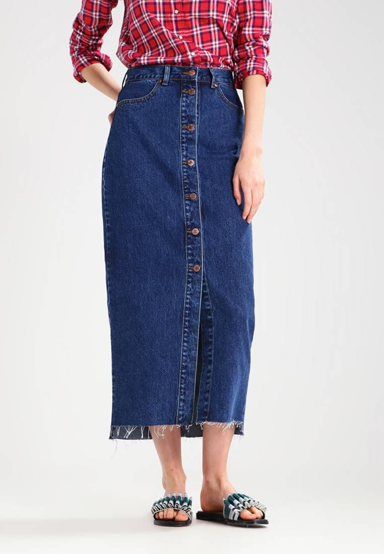 check out 00fc6 62aff VENLA - Jeansrock - mid retro. #denim #jeans #fashion ...