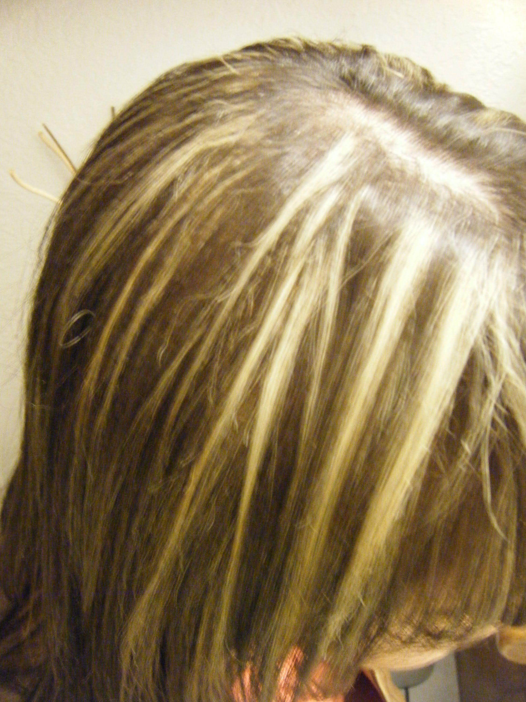 Como hacer mechas localizadas en pelo corto