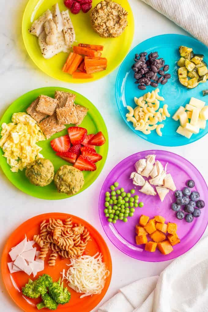 Healthy baby finger foods & toddler finger foods images