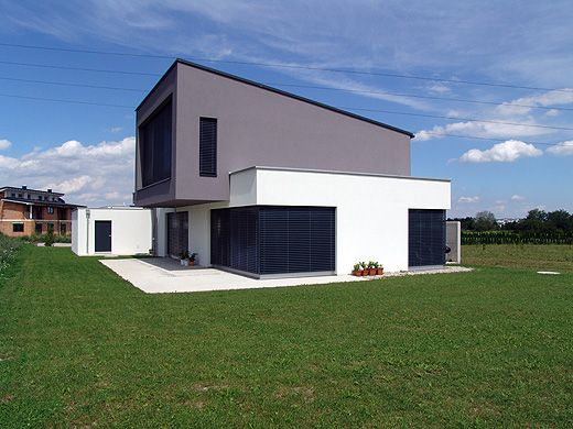 haus aussen modern homes pinterest anthrazit sehen. Black Bedroom Furniture Sets. Home Design Ideas