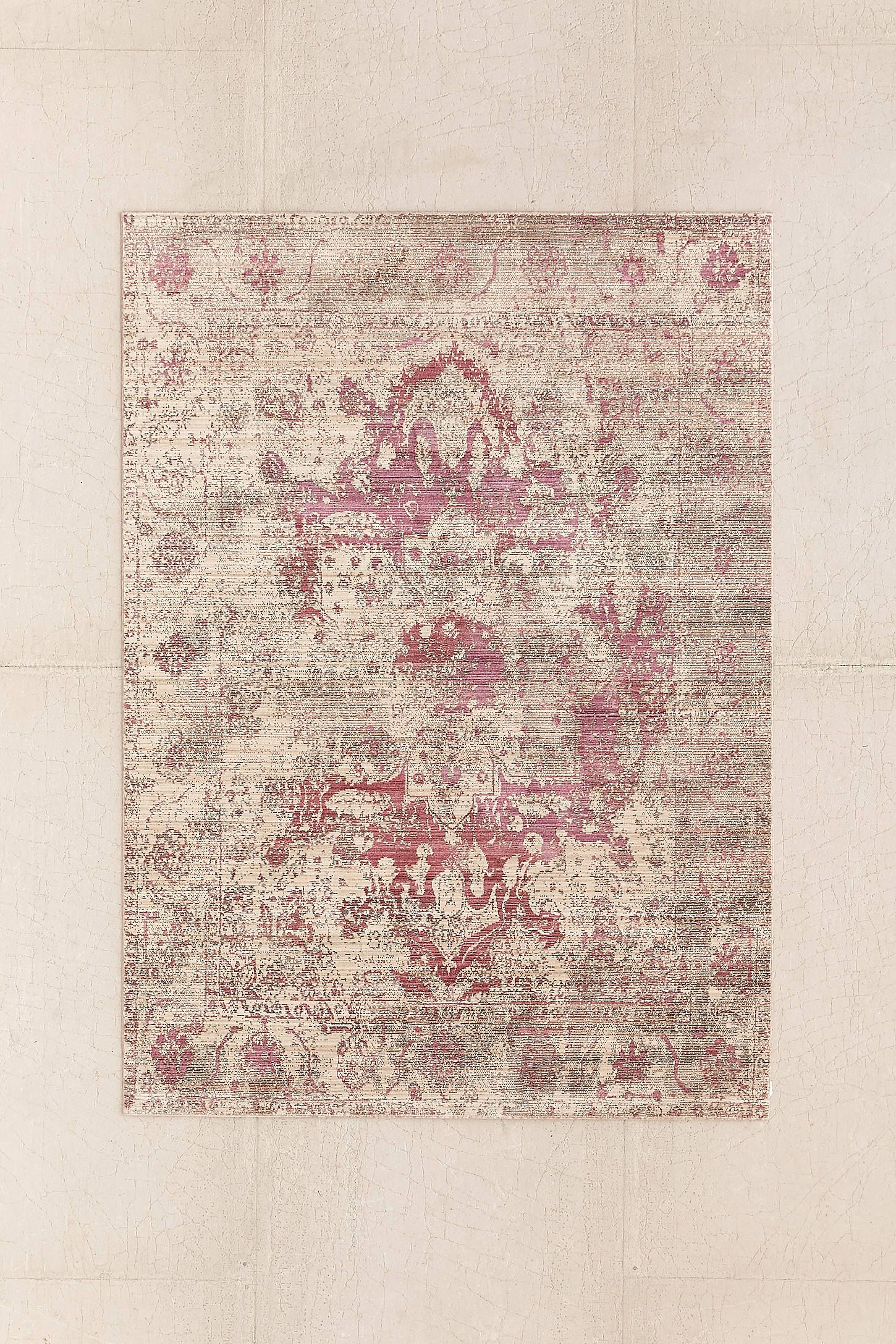 Louisa Worn Woven Rug | Best House stairs, Bedrooms and Interiors ideas