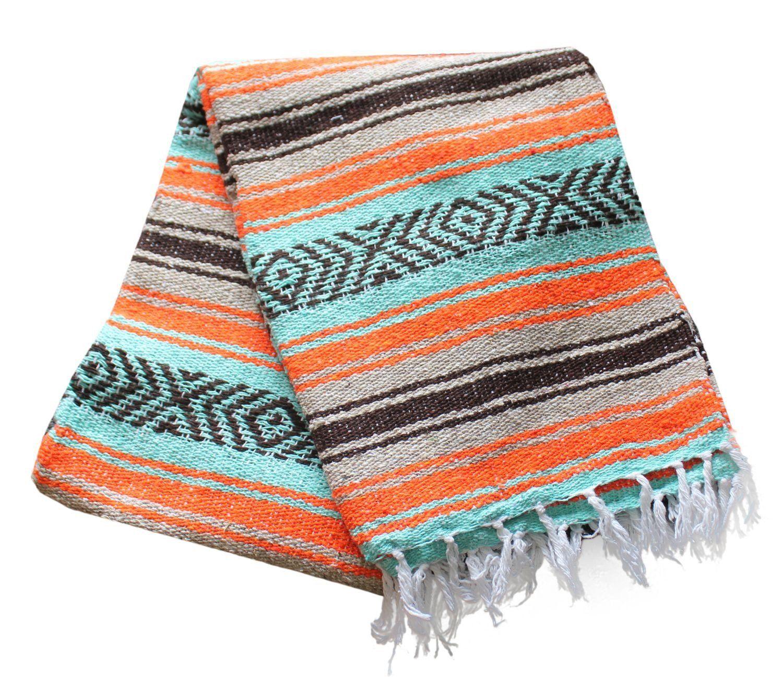 Criddle Blanket In 2020 Baja Blankets Mexican Blanket Camping Blanket