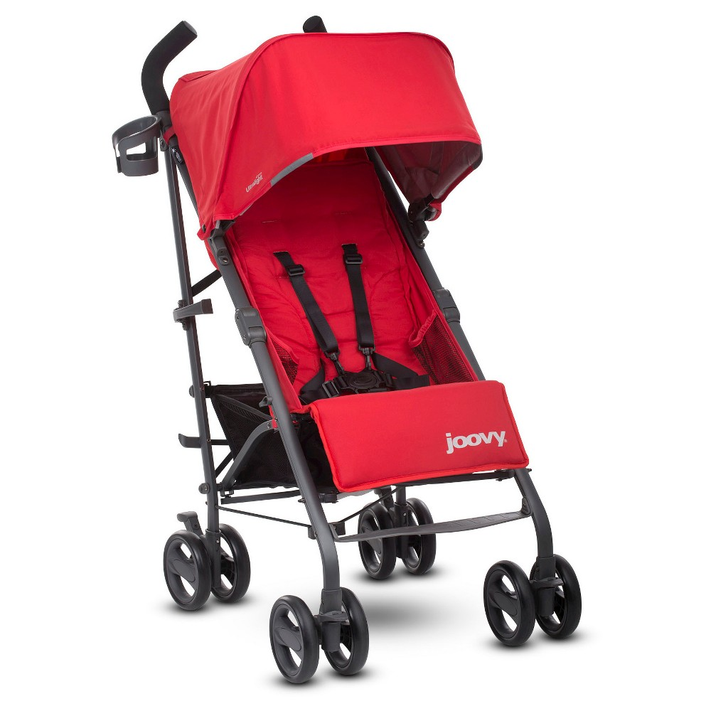 Joovy New Groove Ultralight Umbrella Stroller Red