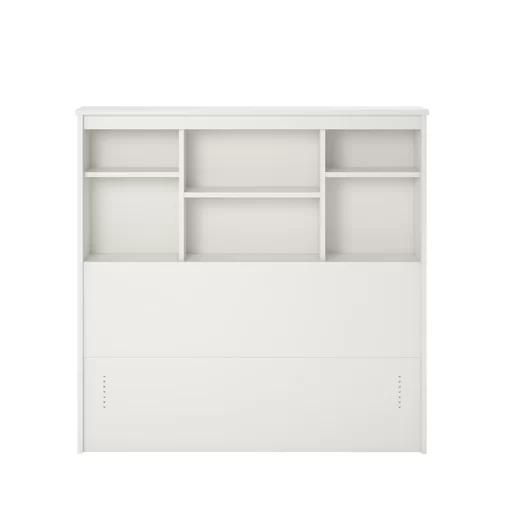 Grantville Twin Bookcase Headboard Bookcase Headboard Bookcase Bed Styling
