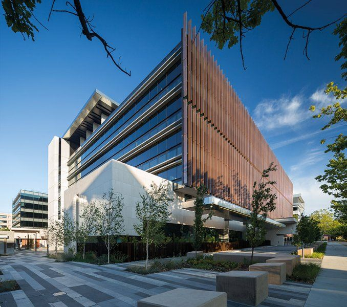 Great Commercial Architecture (ACT) U2013 4 National Circuit Precinct By Fender  Katsalidis. Image By John Gollings.