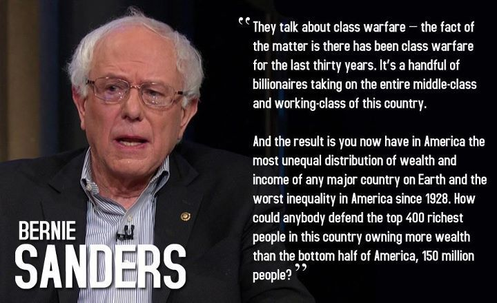 Bernie Sanders Quotes For 40 Years The American Middle Class Has Been Disappearing
