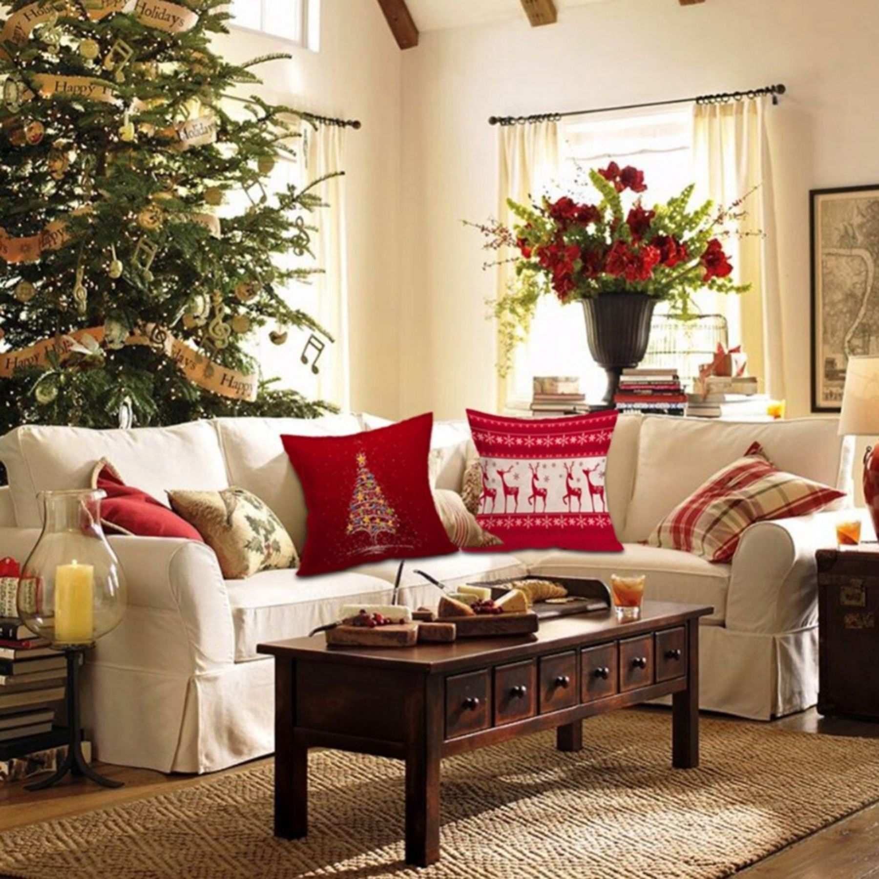 Best 10 Christmas Living Room Decorating Ideas For Your Home Christmas Decorations Living Room Christmas Living Rooms Christmas Lounge