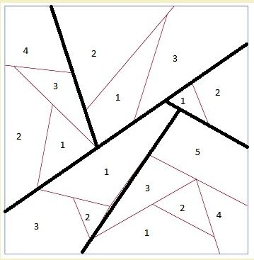 Paper Piecing Origami Crane